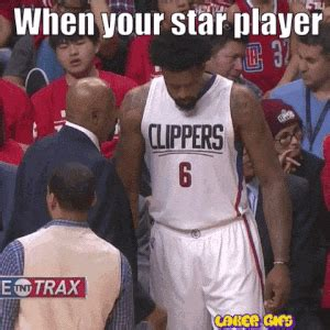 Deandre Jordan Meme - nothing frustrates coaches more than when star players can