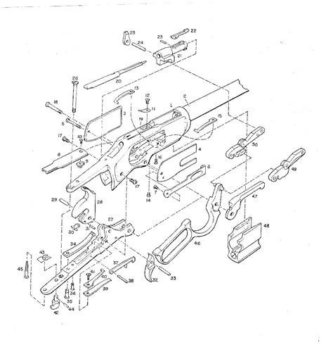 winchester model 94 parts diagram winchester 1873 schematic diagram winchester get free
