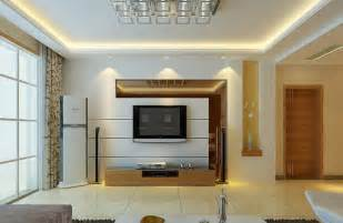 simple style living room tv background wall renovation