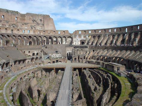 imagenes historicas de roma interior coliseo romano roma fotos de roma interior del