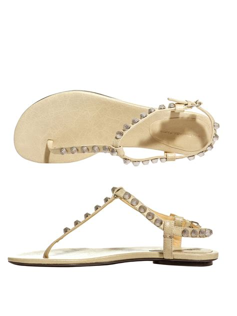 studded sandal balenciaga arena studded flat sandals for xeuee