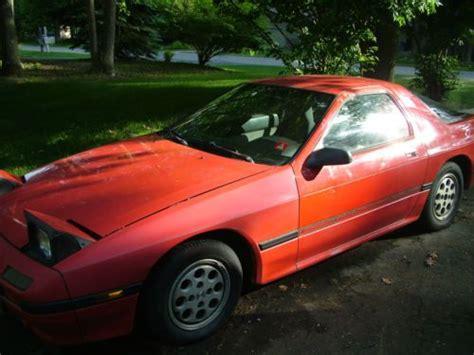 1987 mazda rx7 parts purchase used 1987 mazda rx7 sport coupe fcs4 13b non