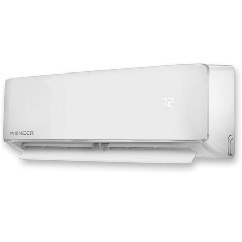 pioneer ductless mini split air conditioner heat pump pioneer wys012 17 air conditioner inverter ductless wall
