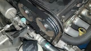 Engine Mounting No 3 Kanan Dekat Timing Belt Kia Carnival Dies akhirnya servis 80k km