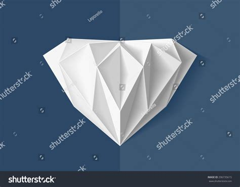 Origami Pop Up Cards - origami pop card stock vector 296735615