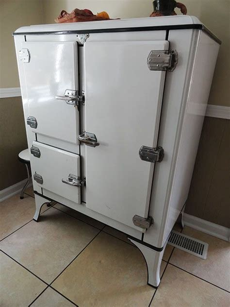 vintage kitchen appliance for sale 1934 white seal ice box fridges pinterest stove