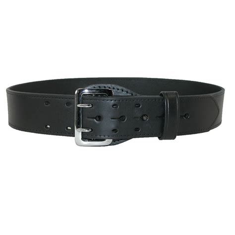 mens leather fully lined sam browne 2 1 4 inch belt by