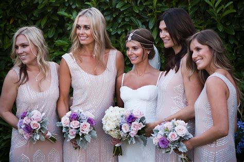 Bridesmaid Akila Dress the garden wedding at bells at killcare