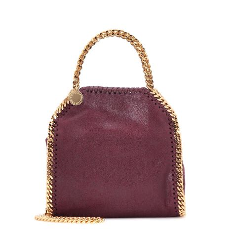 Stella Mccartney Bag lyst stella mccartney falabella tiny shoulder bag in purple