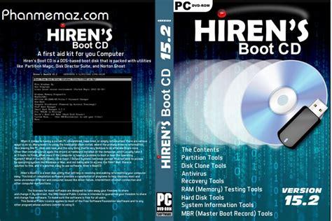 Hiren S Bootcd hiren s bootcd tất cả c 225 c phi 234 n bản mới nhất