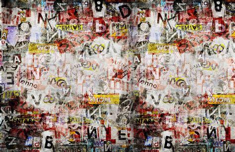 newspaper collage wallpaper muralswallpaper