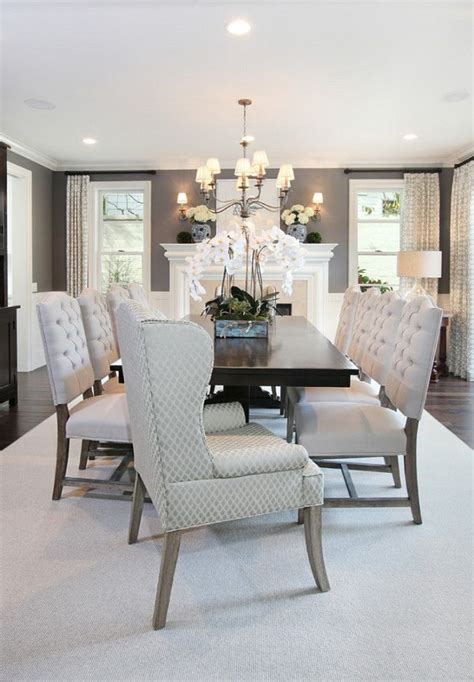 25 best ideas about gray dining rooms on grey
