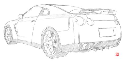 370z Coloring Page by Nissan Gt R By Randychen On Deviantart