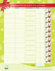 money saving christmas gift planner imom