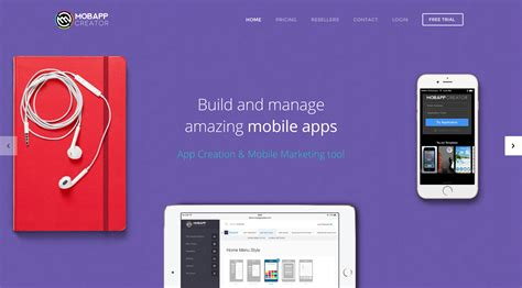 mobile application creator make apps for android and iphone