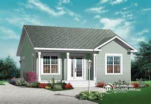 Two Bedroom House by House Plan W3113 Detail From Drummondhouseplans Com