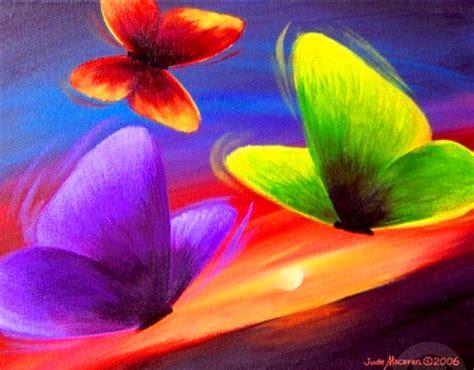 imagenes de mariposas abstractas cuadros pinturas oleos cuadro sencillo con mariposas