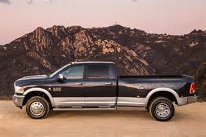 2014 ram 3500 heavy duty dualie laramie side profile