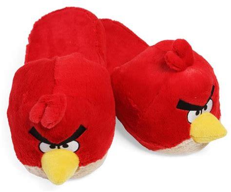 angry birds fuzzy slippers gadgetsin