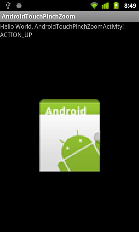 Pinch Zoom Layout In Android | android er implement pinch zoom in ontouchlistener