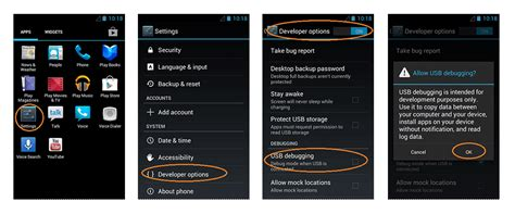 android debug mode how to enable usb debugging mode on android all versions tecmobs