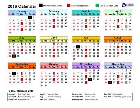 Payroll Calendar Softek Payroll Calendar Softekintl