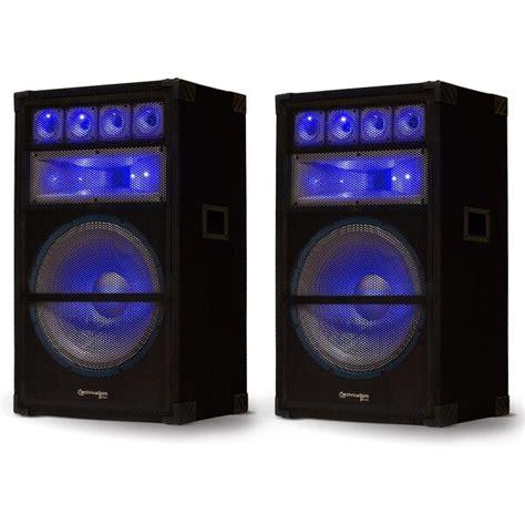 shop technical pro vrtxl passive led speaker pair