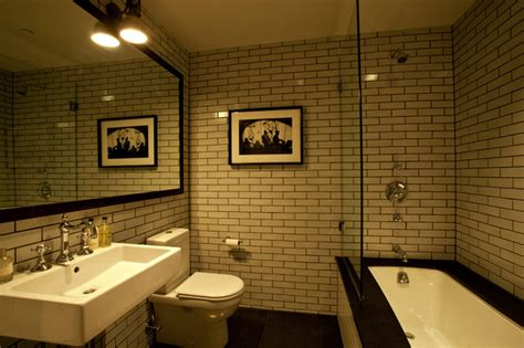 Guest Bathroom New York City Tribeca Loft Luxury Renovation New York Bathroom Design
