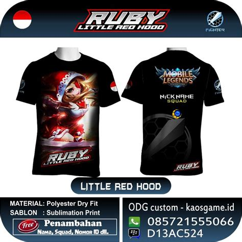 Tshirt Baju Kaos Lengan Panjang Mobile Legends 64 best mobile legend t shirt images on
