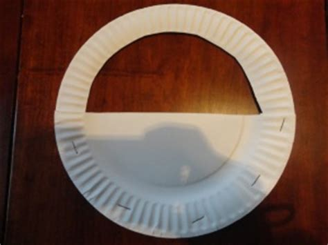 Paper Plate Basket Craft - a tisket a tasket nursery rhyme craft all network