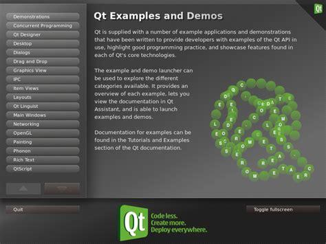 qt exles qt grandyang exles and demos launcher qt 4 8