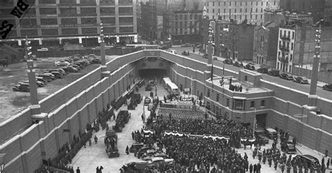 how is the lincoln tunnel lincoln tunnel opens in 1937 ny daily news