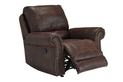 gardner white recliners breville brown with nailhead rocker recliner at gardner white