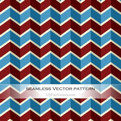 chevron pattern ai vintage colorful chevron pattern vector download free