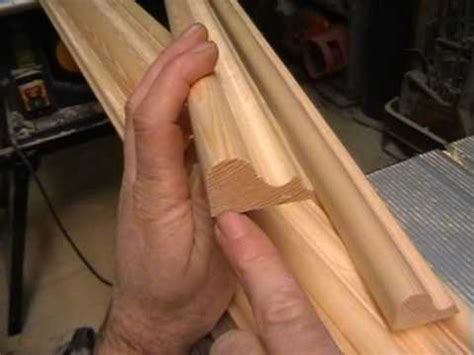 Kitchen Cabinet Door Router Bits diy making a door part 5 timber mouldings cut with basic