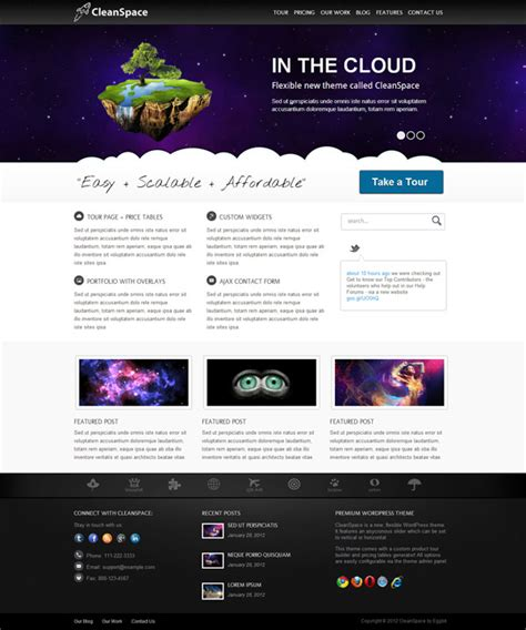 wordpress layout width 20 premium full width wordpress themes 2012