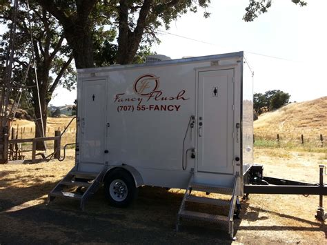 portable bathroom rentals for weddings portable luxury restroom rental in napa ca fancy flush