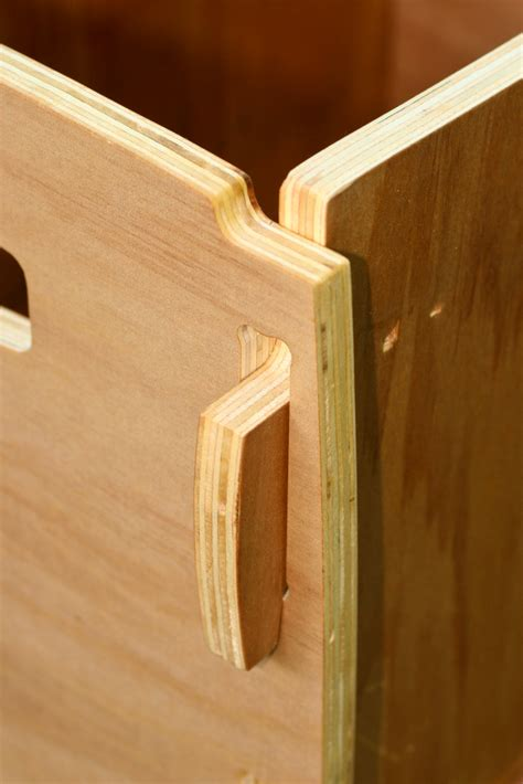 plywood cnc box joint detail   discount agathis