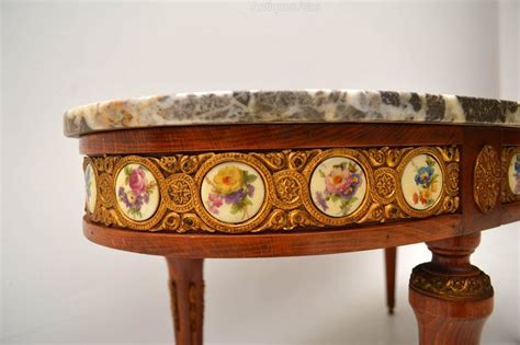 Antique French Marble Top Coffee Table Antiques Atlas Antique Marble Top Coffee Table