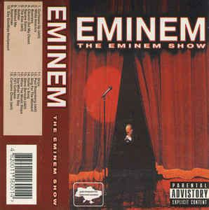curtains close eminem eminem the eminem show cassette album at discogs