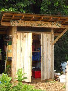 bob bowling rustic shed    garden structure