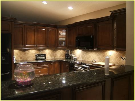 dark granite countertops backsplash ideas with best lighting kitchen dickorleans com