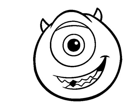 mike monsters inc coloring pages