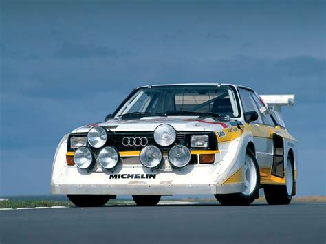 Audi Quattro S1 Group B by Audi Sport Quattro S1 Group B Rally Car 1985 86
