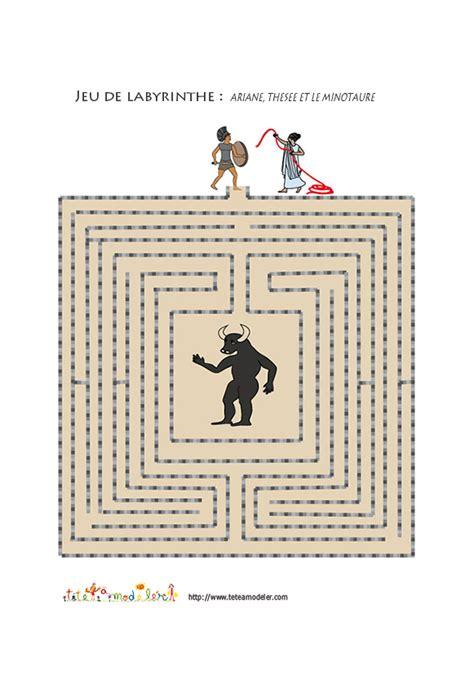 ariane le jeux jeu de labyrinthe ariane th 233 s 233 e et le minotaure le