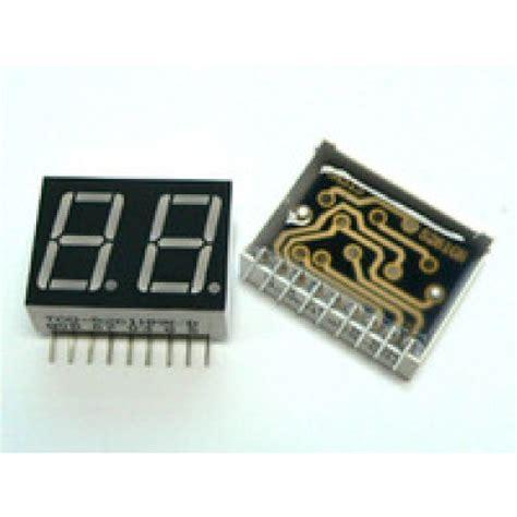 Seven Segment 7 Segment 0 56 0 56 Inchi 0 56 Inchi Common Anoda led display 7 segment 2 digit 0 56 inch common anode ultra 11941 ucd