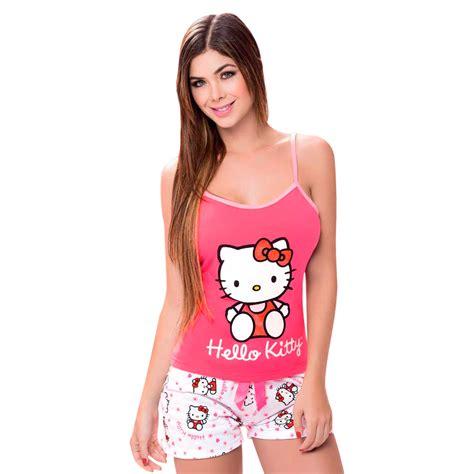 imagenes de kitty con vestido pijamas mujer sensual