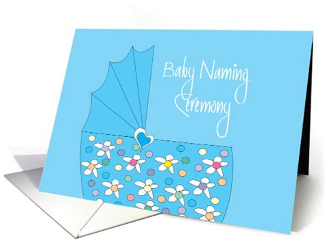 invitation cards for baby naming ceremony in invitation for baby boy naming ceremony with blue