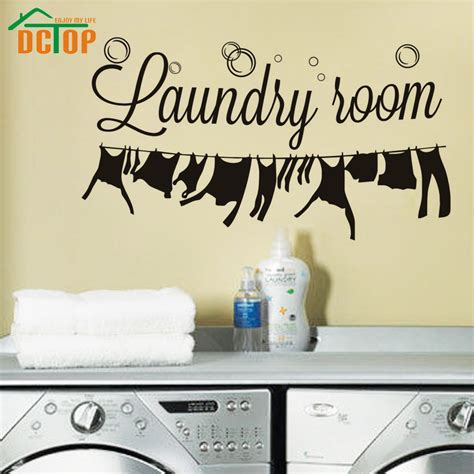 home decor for sale hot sale laundry room wall stickers creative removable