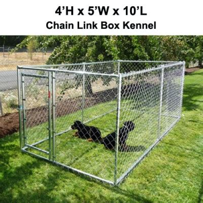 10x20 kennel uptown welded wire box kennel 6 h x 4 w x 4 l spots kennel
